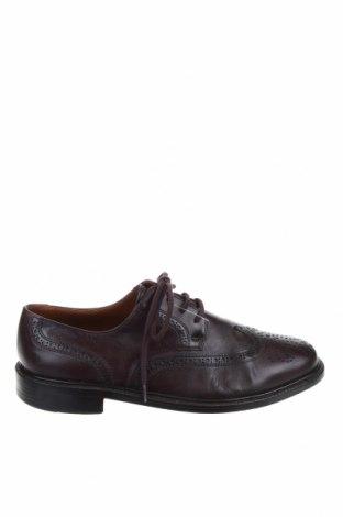 Ανδρικά παπούτσια Bally, Μέγεθος 41, Χρώμα Καφέ, Γνήσιο δέρμα, Τιμή 73,18€
