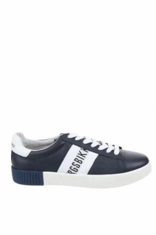 Мъжки обувки Bikkembergs, Размер 42, Цвят Син, Естествена кожа, Цена 216,75лв.