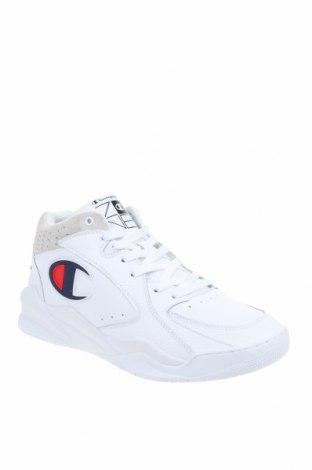Ανδρικά παπούτσια Champion, Μέγεθος 45, Χρώμα Λευκό, Γνήσιο δέρμα, Τιμή 39,41€