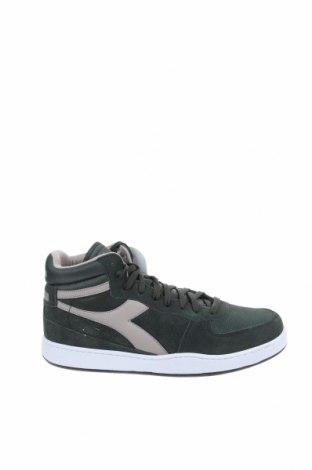 Ανδρικά παπούτσια Diadora, Μέγεθος 46, Χρώμα Πράσινο, Φυσικό σουέτ, Τιμή 36,57€