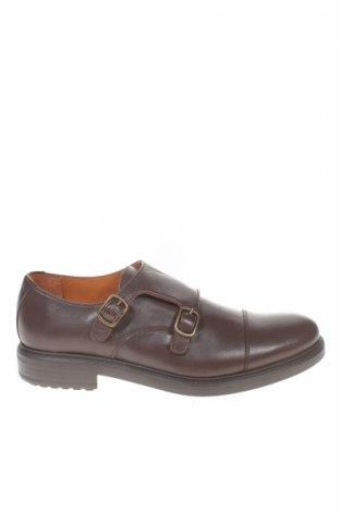 Ανδρικά παπούτσια El Caballo, Μέγεθος 40, Χρώμα Καφέ, Γνήσιο δέρμα, Τιμή 33,74€