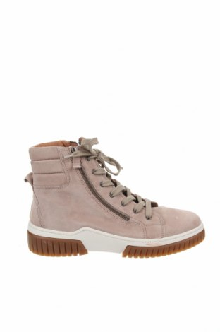 Мъжки обувки Gabor, Размер 42, Цвят Бежов, Естествен велур, Цена 84,00лв.