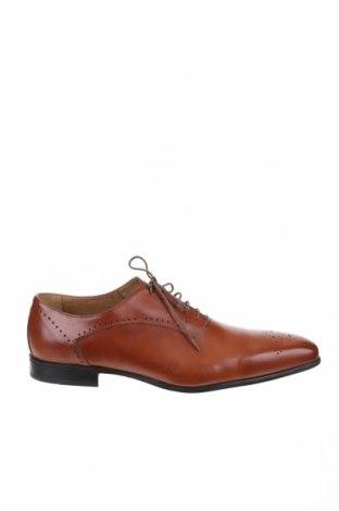 Ανδρικά παπούτσια Giorgio 1958, Μέγεθος 50, Χρώμα Καφέ, Γνήσιο δέρμα, Τιμή 32,74€