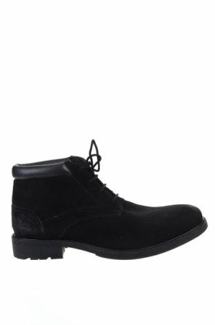 Мъжки обувки Hush Puppies, Размер 41, Цвят Черен, Естествен велур, Цена 91,50лв.