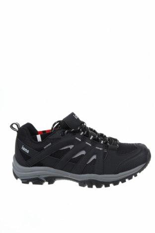Мъжки обувки Izas, Размер 43, Цвят Черен, Еко кожа, текстил, Цена 44,25лв.