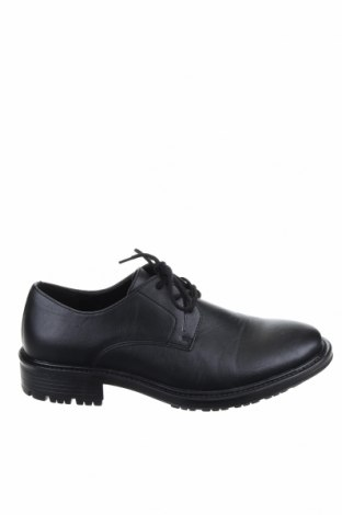 Мъжки обувки Jack & Jones, Размер 41, Цвят Черен, Еко кожа, Цена 43,68лв.