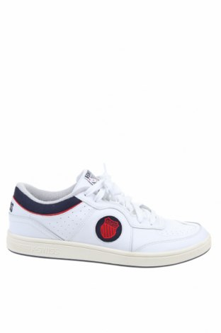 Мъжки обувки K-Swiss, Размер 49, Цвят Бял, Естествена кожа, еко кожа, Цена 44,28лв.