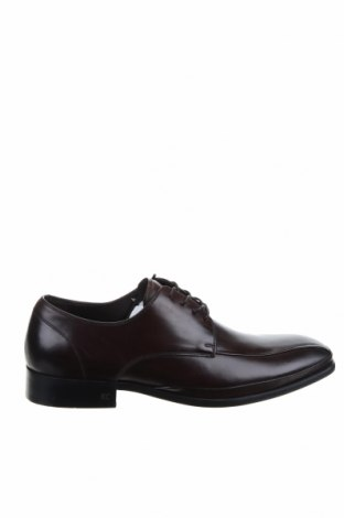 Мъжки обувки Kenneth Cole, Размер 43, Цвят Кафяв, Естествена кожа, Цена 66,75лв.