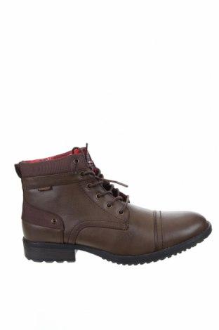 Мъжки обувки Koroshi, Размер 42, Цвят Кафяв, Еко кожа, Цена 50,15лв.