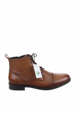 Ανδρικά παπούτσια Last Studio, Μέγεθος 41, Χρώμα Καφέ, Γνήσιο δέρμα, Τιμή 64,92€