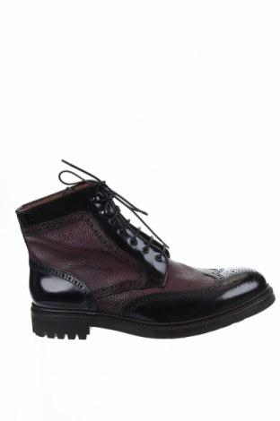 Ανδρικά παπούτσια Lottusse, Μέγεθος 43, Χρώμα Μαύρο, Γνήσιο δέρμα, Τιμή 62,09€