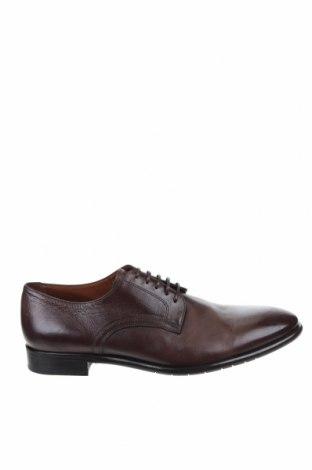 Ανδρικά παπούτσια Lottusse, Μέγεθος 43, Χρώμα Καφέ, Γνήσιο δέρμα, Τιμή 67,73€
