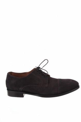 Мъжки обувки Lottusse, Размер 44, Цвят Кафяв, Естествен велур, Цена 164,25лв.