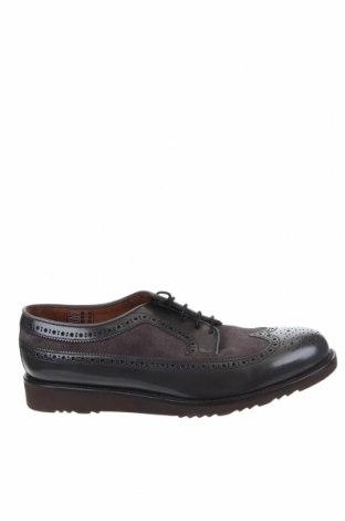 Ανδρικά παπούτσια Lottusse, Μέγεθος 44, Χρώμα Γκρί, Γνήσιο δέρμα, Τιμή 67,73€