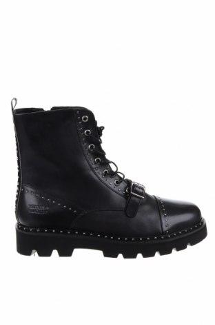 Ανδρικά παπούτσια Melvin & Hamilton, Μέγεθος 43, Χρώμα Μαύρο, Γνήσιο δέρμα, Τιμή 73,43€