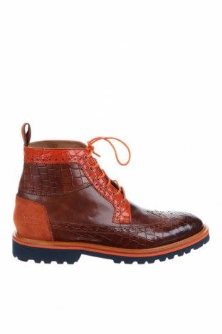 Мъжки обувки Melvin & Hamilton, Размер 43, Цвят Кафяв, Естествена кожа, естествен велур, Цена 194,25лв.