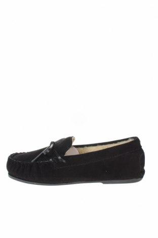 Дамски обувки Nice Bay, Размер 41, Цвят Черен, Естествен велур, Цена 35,70лв.