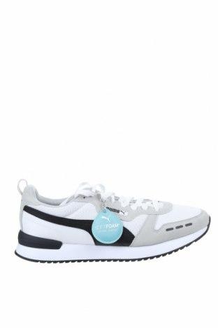 Мъжки обувки PUMA, Размер 48, Цвят Бял, Текстил, еко кожа, Цена 126,75лв.