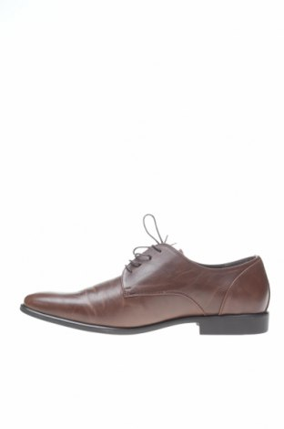 Мъжки обувки Pier One, Размер 48, Цвят Кафяв, Еко кожа, Цена 41,08лв.