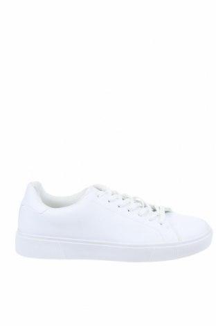 Мъжки обувки Pier One, Размер 48, Цвят Бял, Еко кожа, Цена 59,25лв.
