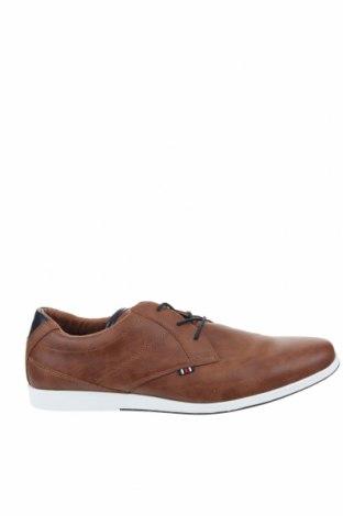 Мъжки обувки Pier One, Размер 48, Цвят Кафяв, Еко кожа, Цена 57,67лв.