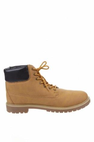 Мъжки обувки Pier One, Размер 48, Цвят Кафяв, Еко кожа, Цена 69,00лв.