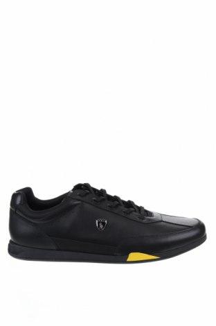 Ανδρικά παπούτσια Polo By Ralph Lauren, Μέγεθος 49, Χρώμα Μαύρο, Γνήσιο δέρμα, Τιμή 48,90€