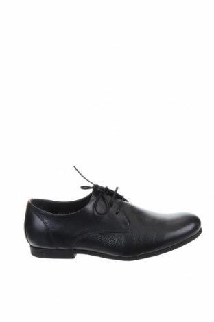 Мъжки обувки Royal Republiq, Размер 41, Цвят Черен, Естествена кожа, Цена 164,25лв.
