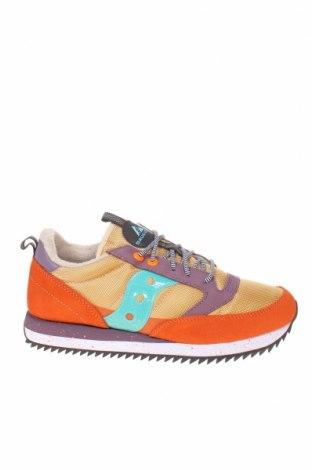Мъжки обувки Saucony, Размер 42, Цвят Многоцветен, Естествен велур, еко кожа, текстил, Цена 87,72лв.