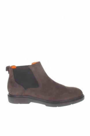 Ανδρικά παπούτσια Stonefly, Μέγεθος 44, Χρώμα Γκρί, Γνήσιο δέρμα, Τιμή 35,22€