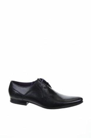 Ανδρικά παπούτσια Ted Baker, Μέγεθος 48, Χρώμα Μαύρο, Γνήσιο δέρμα, Τιμή 67,76€