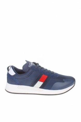 Ανδρικά παπούτσια Tommy Hilfiger, Μέγεθος 43, Χρώμα Μπλέ, Κλωστοϋφαντουργικά προϊόντα, πολυουρεθάνης, φυσικό σουέτ, Τιμή 58,45€