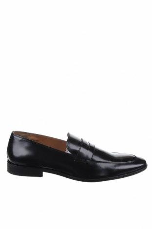 Ανδρικά παπούτσια Zign, Μέγεθος 48, Χρώμα Μαύρο, Γνήσιο δέρμα, Τιμή 26,60€