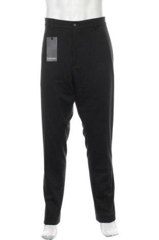 Мъжки панталон Bruno Banani, Размер XL, Цвят Черен, 81% полиестер, 13% вискоза, 6% еластан, Цена 32,93лв.