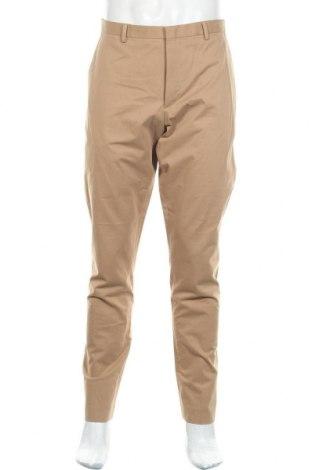 Мъжки панталон COS, Размер L, Цвят Кафяв, Памук, Цена 36,54лв.