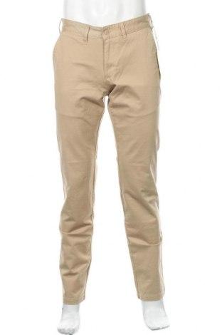 Мъжки панталон Lois, Размер M, Цвят Бежов, 98% памук, 2% еластан, Цена 23,67лв.