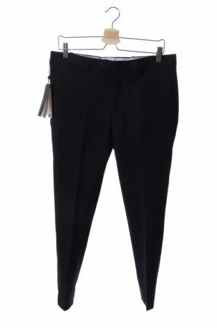 Мъжки панталон Massimo Dutti, Размер M, Цвят Син, Вълна, Цена 24,60лв.