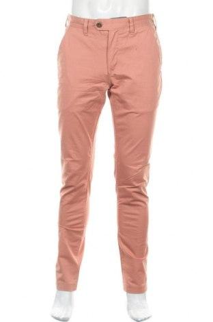 Ανδρικό παντελόνι Ted Baker, Μέγεθος M, Χρώμα Ρόζ , 98% βαμβάκι, 2% ελαστάνη, Τιμή 23,56€