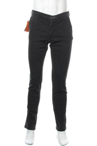 Мъжки панталон Trussardi Jeans, Размер M, Цвят Син, 98% памук, 2% еластан, Цена 107,40лв.