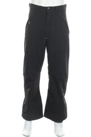 Мъжки панталон за зимни спортове Salomon, Размер M, Цвят Черен, 87% полиамид, 13% еластан, Цена 70,56лв.