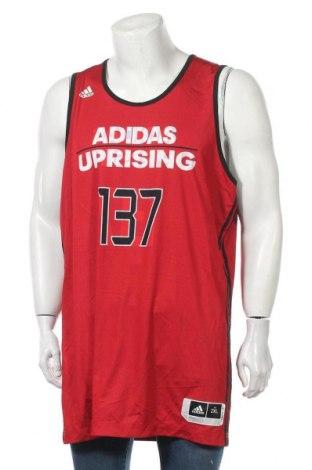 Ανδρική αμάνικη μπλούζα Adidas, Μέγεθος XXL, Χρώμα Μαύρο, Πολυεστέρας, Τιμή 12,96€