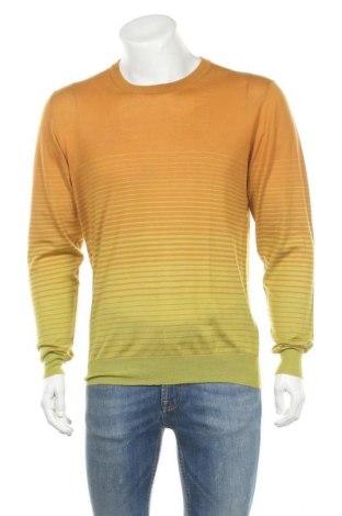 Мъжки пуловер Etro, Размер XXL, Цвят Зелен, Кашмир, Цена 268,00лв.