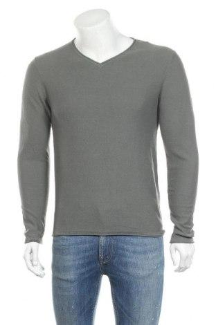 Ανδρικό πουλόβερ Jack & Jones, Μέγεθος S, Χρώμα Πράσινο, Βαμβάκι, Τιμή 16,29€