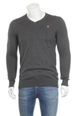 Ανδρικό πουλόβερ Tom Tailor, Μέγεθος S, Χρώμα Γκρί, Βαμβάκι, Τιμή 16,29€