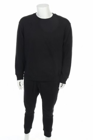 Αθλητικό ανδρικό σύνολο Topman, Μέγεθος XL, Χρώμα Μαύρο, 58% βαμβάκι, 42% πολυεστέρας, Τιμή 31,61€