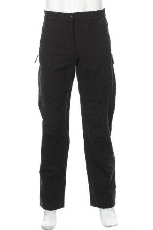 Мъжки спортен панталон Vittorio Rossi, Размер S, Цвят Черен, 82% полиестер, 12% памук, 6% еластан, Цена 28,35лв.
