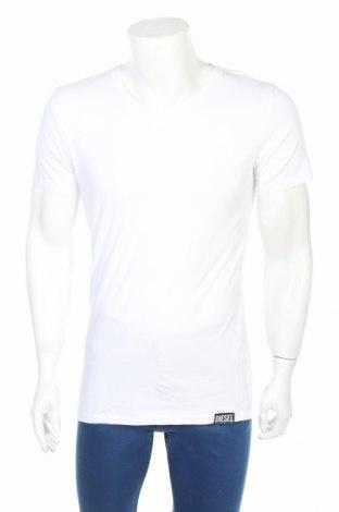 Мъжко бельо Diesel, Размер M, Цвят Бял, 95% памук, 5% еластан, Цена 19,75лв.