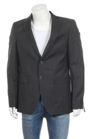 Ανδρικό σακάκι Barutti, Μέγεθος L, Χρώμα Μπλέ, Μαλλί, Τιμή 17,54€