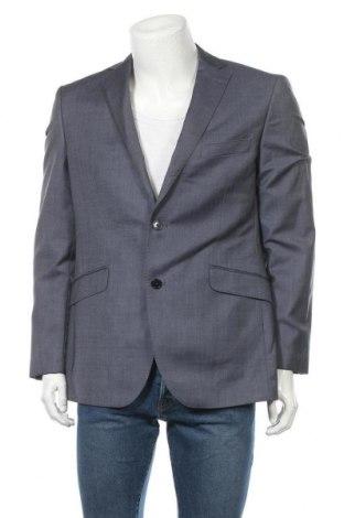 Ανδρικό σακάκι Cortefiel, Μέγεθος L, Χρώμα Μπλέ, Μαλλί, Τιμή 20,01€