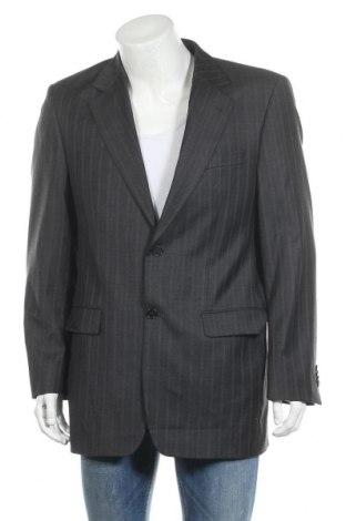 Мъжко сако Lawrence Grey, Размер M, Цвят Сив, Вълна, Цена 49,68лв.